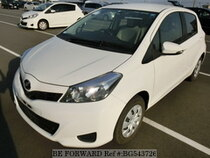 Used 2014 TOYOTA VITZ BG543726 for Sale for Sale