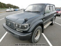 Used 1995 TOYOTA LAND CRUISER BG547304 for Sale for Sale