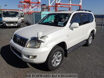 Used 2008 TOYOTA LAND CRUISER PRADO BG548337 for Sale for Sale