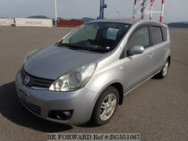 Used 2009 NISSAN NOTE BG551067 for Sale for Sale