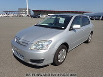 Used 2004 TOYOTA ALLEX BG551069 for Sale for Sale