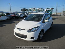 Used 2010 MAZDA DEMIO BG553498 for Sale for Sale