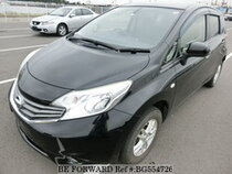 Used 2013 NISSAN NOTE BG554726 for Sale for Sale