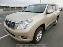 Used 2010 TOYOTA LAND CRUISER PRADO BG558101 for Sale for Sale