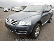 Used 2004 VOLKSWAGEN TOUAREG BG558197 for Sale for Sale