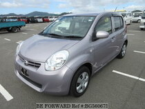 Used 2012 DAIHATSU BOON BG560675 for Sale for Sale