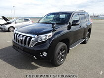 Used 2014 TOYOTA LAND CRUISER PRADO BG562939 for Sale for Sale