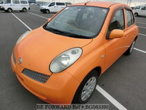 Used 2004 NISSAN MARCH BG563393 for Sale for Sale