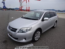 Used 2010 TOYOTA COROLLA FIELDER BG563120 for Sale for Sale