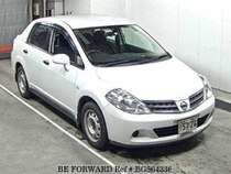 Used 2012 NISSAN TIIDA LATIO BG564336 for Sale for Sale