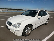 Used 2002 MERCEDES-BENZ C-CLASS BG565872 for Sale for Sale
