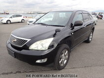 Used 2009 TOYOTA HARRIER BG572314 for Sale for Sale