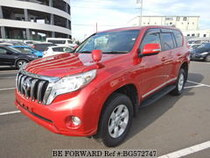 Used 2016 TOYOTA LAND CRUISER PRADO BG572747 for Sale for Sale