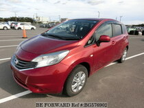 Used 2013 NISSAN NOTE BG576902 for Sale for Sale