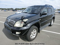 Used 2007 TOYOTA LAND CRUISER PRADO BG578762 for Sale for Sale