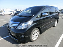 Used 2010 TOYOTA ALPHARD BG583251 for Sale for Sale