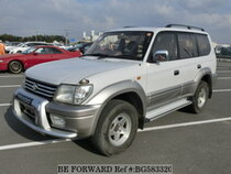 Used 2000 TOYOTA LAND CRUISER PRADO BG583320 for Sale for Sale