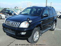 Used 2007 TOYOTA LAND CRUISER PRADO BG583111 for Sale for Sale