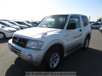 Used 2002 MITSUBISHI PAJERO BG584929 for Sale for Sale
