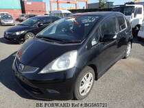 Used 2009 HONDA FIT BG585721 for Sale for Sale