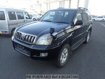 Used 2008 TOYOTA LAND CRUISER PRADO BG587389 for Sale for Sale