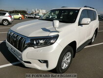 Used 2017 TOYOTA LAND CRUISER PRADO BG588136 for Sale for Sale