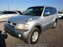 Used 2002 MITSUBISHI PAJERO BG587406 for Sale for Sale