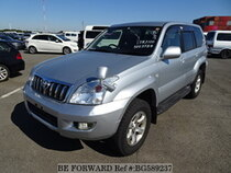Used 2004 TOYOTA LAND CRUISER PRADO BG589237 for Sale for Sale