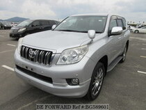 Used 2010 TOYOTA LAND CRUISER PRADO BG589601 for Sale for Sale