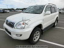 Used 2003 TOYOTA LAND CRUISER PRADO BG593107 for Sale for Sale