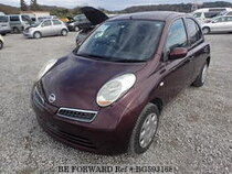 Used 2009 NISSAN MARCH BG593168 for Sale for Sale