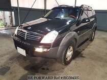 Used 2004 SSANGYONG REXTON BG594337 for Sale for Sale