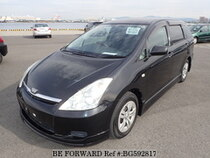 Used 2005 TOYOTA WISH BG592817 for Sale for Sale