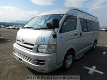 Used 2007 TOYOTA HIACE VAN BG594630 for Sale for Sale