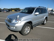 Used 2005 TOYOTA LAND CRUISER PRADO BG594516 for Sale for Sale