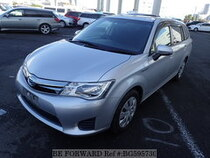 Used 2014 TOYOTA COROLLA FIELDER BG595730 for Sale for Sale