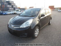 Used 2009 NISSAN NOTE BG595711 for Sale for Sale