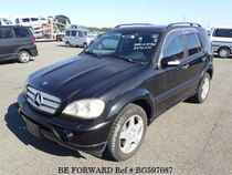 Used 2004 MERCEDES-BENZ M-CLASS BG597087 for Sale for Sale