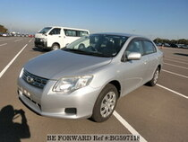Used 2008 TOYOTA COROLLA AXIO BG597118 for Sale for Sale