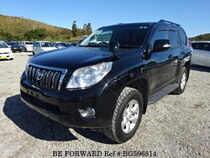 Used 2011 TOYOTA LAND CRUISER PRADO BG596814 for Sale for Sale
