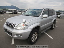 Used 2004 TOYOTA LAND CRUISER PRADO BG598590 for Sale for Sale