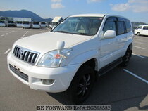 Used 2004 TOYOTA LAND CRUISER PRADO BG598582 for Sale for Sale