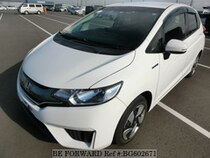 Used 2014 HONDA FIT HYBRID BG602671 for Sale for Sale