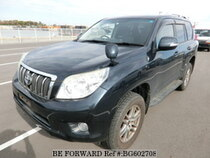 Used 2009 TOYOTA LAND CRUISER PRADO BG602708 for Sale for Sale
