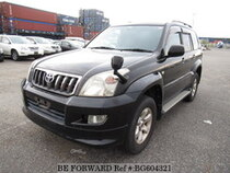 Used 2008 TOYOTA LAND CRUISER PRADO BG604321 for Sale for Sale