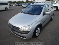 Used 2002 OPEL VITA BG605732 for Sale for Sale