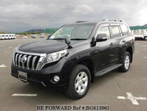 Used 2017 TOYOTA LAND CRUISER PRADO BG613963 for Sale for Sale