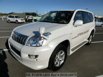 Used 2003 TOYOTA LAND CRUISER PRADO BG616979 for Sale for Sale