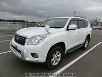 Used 2009 TOYOTA LAND CRUISER PRADO BG616818 for Sale for Sale