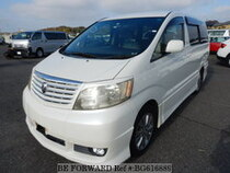 Used 2004 TOYOTA ALPHARD BG616889 for Sale for Sale